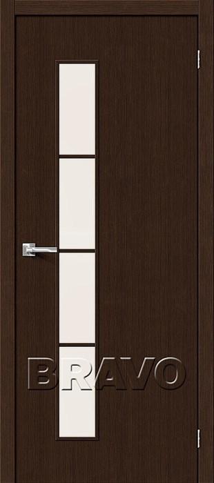 Двери Тренд-4 3D  Wenge СТ-Magic Fog, Межкомнатные Двери ,Браво, Bravo. - фото 5473