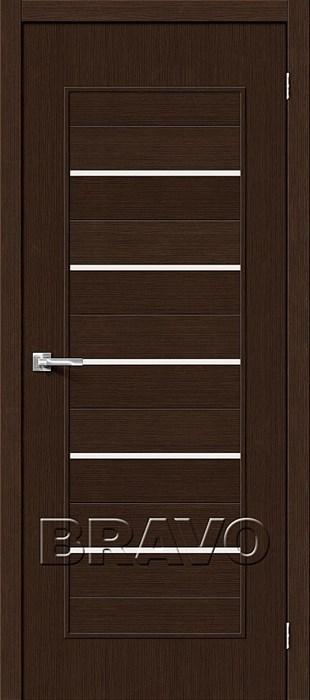 Двери Тренд-22 3D Wenge СТ-Magic Fog, Межкомнатные Двери ,Браво, Bravo. - фото 5478