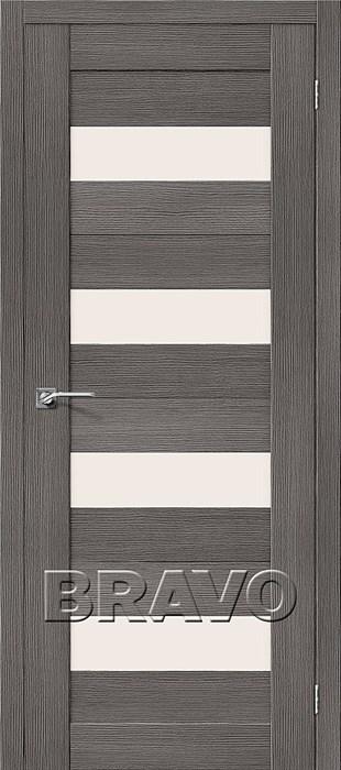 Двери Порта-23 3D Grey, Межкомнатные двери Браво, Bravo. - фото 5550