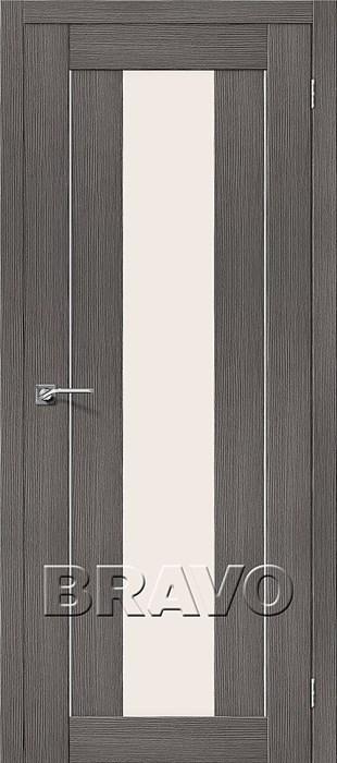 Межкомнатные Двери Порта-25 alu 3D Grey, двери Браво, Bravo. - фото 5551
