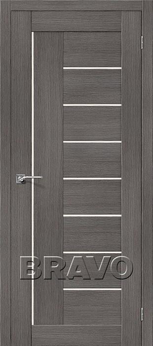 Двери Порта-29 3D Grey, Межкомнатные двери Браво, Bravo. - фото 5552