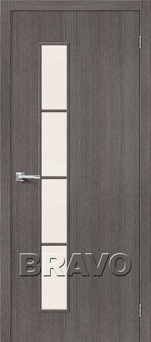 Межкомнатные Двери, Двери Тренд-4 3D Grey  СТ-Magic Fog - фото 5555