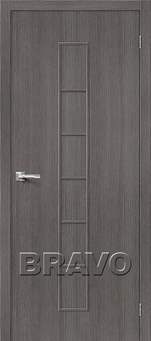 Двери Тренд-11 3D Grey, Межкомнатные Двери ,Браво, Bravo. - фото 5556