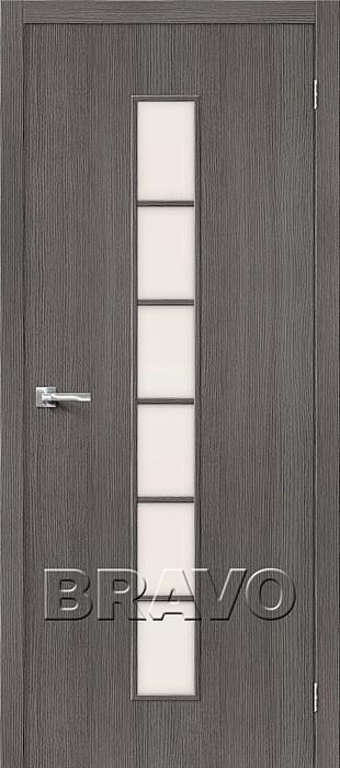 Двери Тренд-12 3D Grey СТ-Magic Fog, Межкомнатные Двери ,Браво, Bravo. - фото 5557