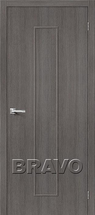 Двери Тренд-13 3D Grey, Межкомнатные Двери ,Браво, Bravo. - фото 5558