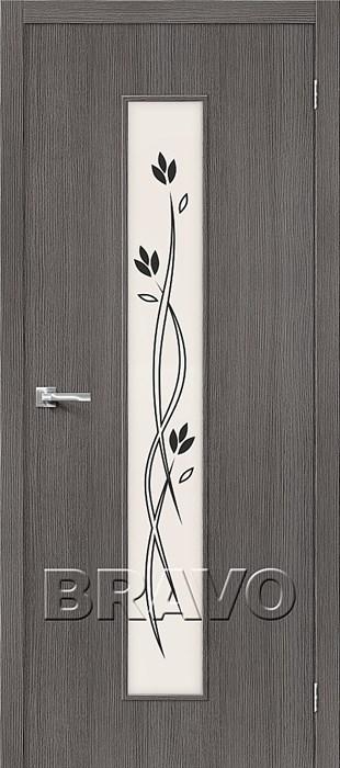 Двери Тренд-14 3D Grey СТ-Etude, Межкомнатные Двери ,Браво, Bravo. - фото 5559