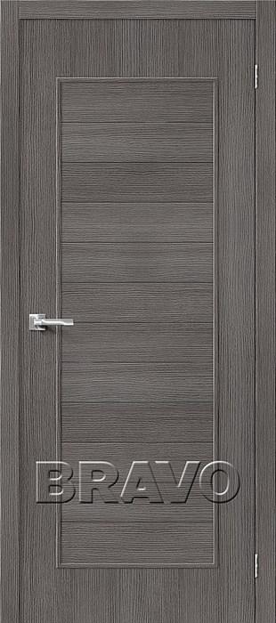 Двери Тренд-21 3D Grey, Межкомнатные Двери ,Браво, Bravo. - фото 5560