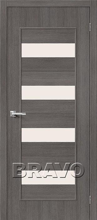 Двери Тренд-23 3D Grey СТ-Magic Fog, Межкомнатные Двери ,Браво, Bravo. - фото 5562