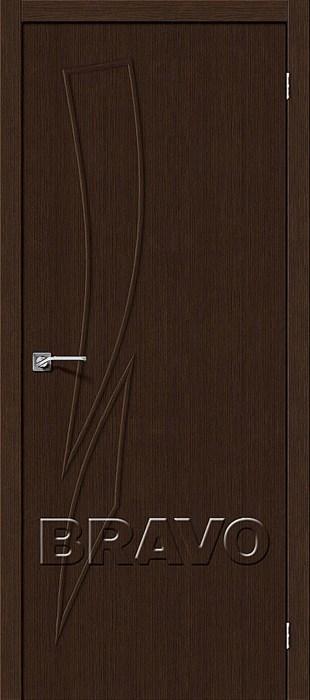 Двери Мастер-9 3D Wenge, Межкомнатные двери Браво, Bravo. - фото 5674