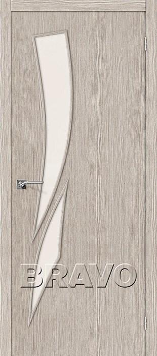 Двери Мастер-10 3D Cappuccino, Межкомнатные двери Браво, Bravo. - фото 5675