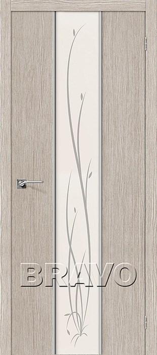 Глейс-2 Twig 3D Cappuccino, Glace-1, Межкомнатные двери, Браво, Bravo. - фото 5681
