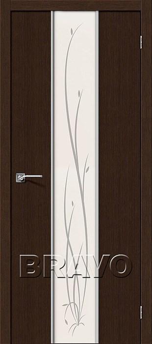 Глейс-2 Twig 3D Wenge, Glace-1, Межкомнатные двери, Браво, Bravo, Двери Браво официальный сайт. - фото 5682