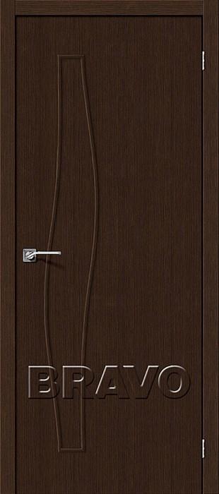 Двери Мастер-7 3D Wenge, Межкомнатные двери Браво, Bravo. - фото 5707