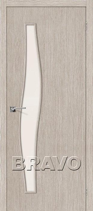 Мастер-8 3D Cappuccino, Межкомнатные двери Браво, Bravo. - фото 5709