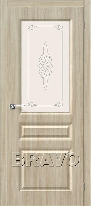 Межкомнатные Двери, ПВХ, Браво,Bravo, Статус-15 П-34 (Шимо Светлый) - фото 5926