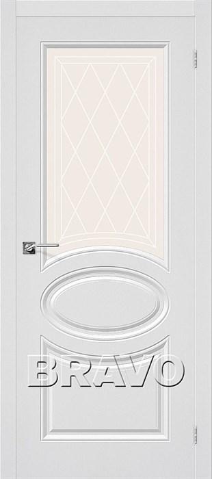 Двери ПВХ, Bravo,Статус-21  П-23 (Белый) - фото 6056