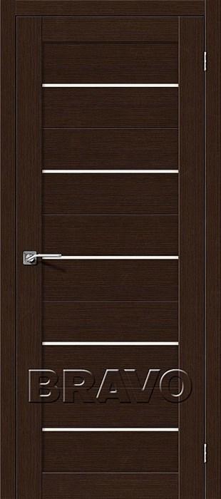 Межкомнатные Двери Свит-22 3D Wenge СТ-Magic Fog, двери Браво, Bravo. - фото 6194