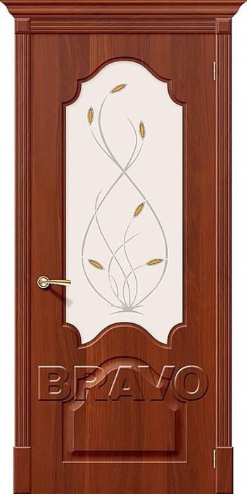 Межкомнатные двери, Скинни-33 П-31 (ИталОрех)/ст - фото 6199