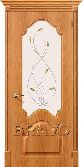 Межкомнатные двери Скинни-33, П-32 (МиланОрех)/ст - фото 6201
